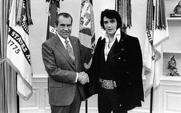 Richard Nixon & Elvis Presley