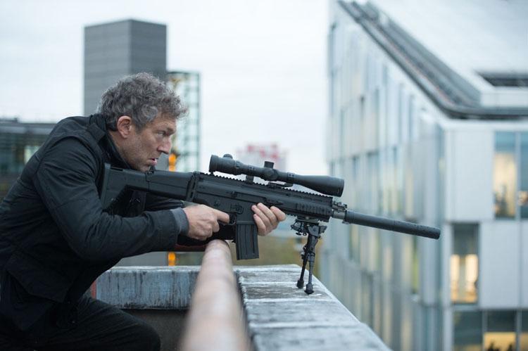 Asset ( Vincent Cassel) ennemi juré de Jason Bourne