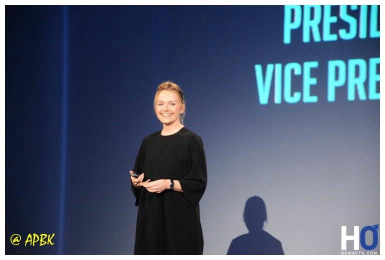 Eva Wimmers ( Présidente de Honor Europe et Vice présidente d'Honor Global)