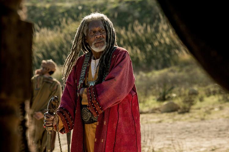Ilderim  (Morgan Freeman )