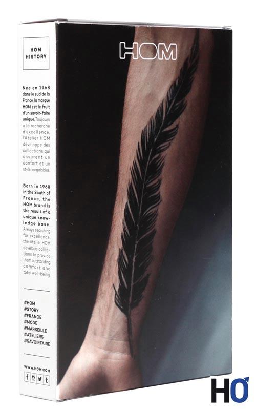 Pack tatouage plume