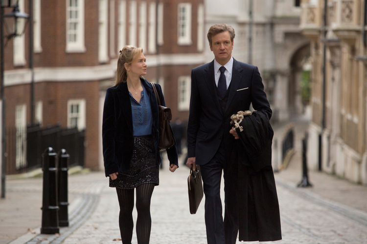 Bridget Jones (Renée Zellweger) et Mark Darcy (Colin Firth)
