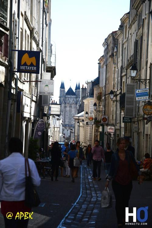 La rue de la cathédrale