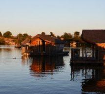 La Vienne et ses trésors : Le Village Flottant de Pressac.