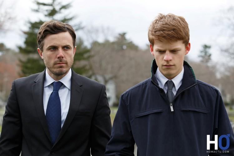 Lee et son neveu Patrick (Lucas Hedges)