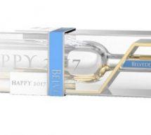 Belvedere Vodka :  édition limitée du magnum argenté pour les fêtes de fin d'année .