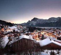 Le Grand Massif, cinq stations de ski en Haute-Savoie.