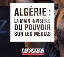 ALGÉRIE : la main invisible sur le pouvoir des médias.