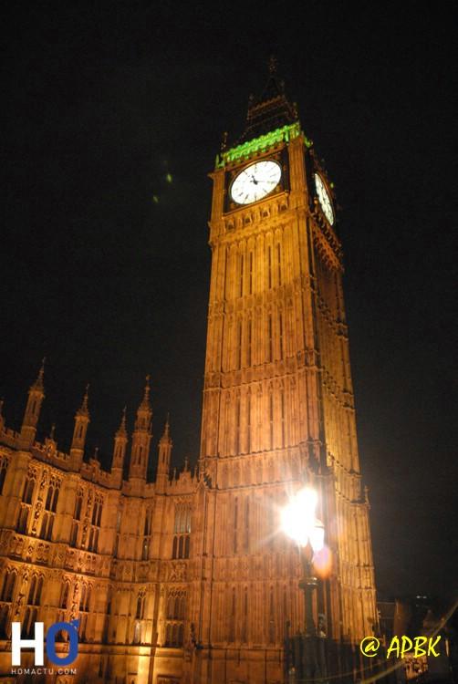 Le palais de Wesminster et Big Ben