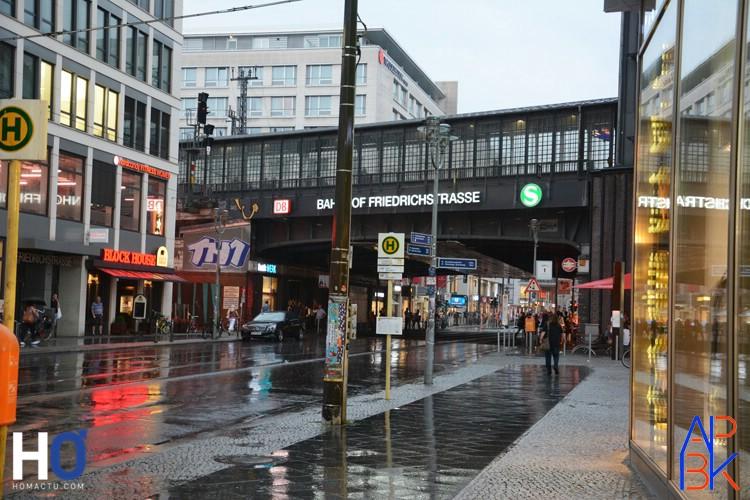 U-Bahn - Friedrichstrasse