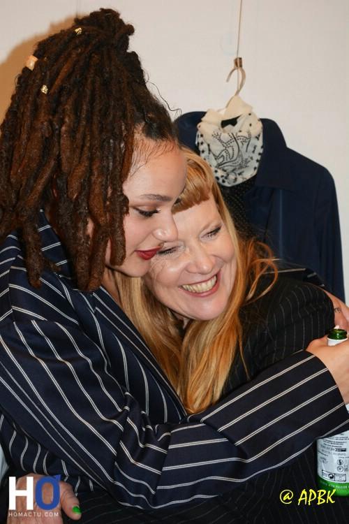Sasha Lane et Andrea Arnold (réalisatrice)