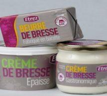 Les Glorieuses de Bresse : La laiterie coopérative d'Etrez dans l'Ain.