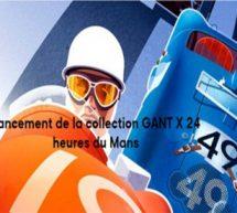 GANT DEVIENT L'HABILLEUR OFFICIEL  DES 24 HEURES DU MANS.