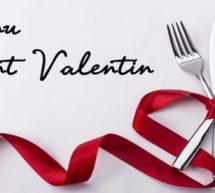 Pourquoi ne pas préparer un bon repas pour la ST Valentin?