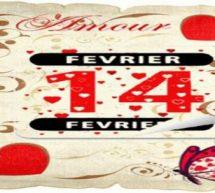 Cupidon invite les amoureux à fêter la Saint-Valentin !