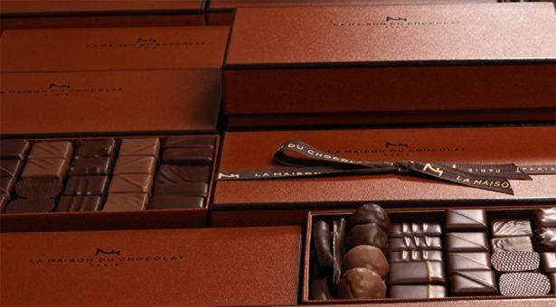 La Maison du Chocolat fête ses 40 ans.