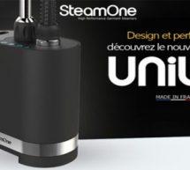 Unilys, le nouveau défroisseur SteamOne qui défroisse plus vite que son ombre !