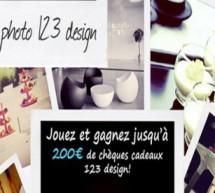 123 design organise un concours photos!