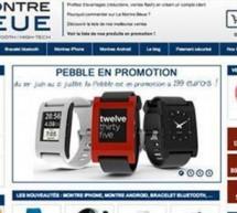 La Montre Bleue.fr, la première boutique en ligne dédiée à la montre connectée !