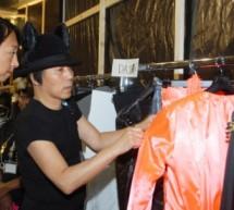Rynshu – Backstage Fashion-week Printemps/Eté 2014
