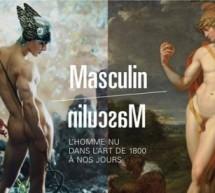 La Maison Francesco Smalto mécène de l'exposition 'Masculin/Masculin, l'homme nu dans l'art de 1800 à nos jours!