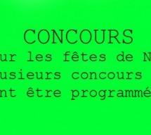 CONCOURS sur HOMACTU!
