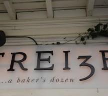 TREI3E… a baker's dozen.