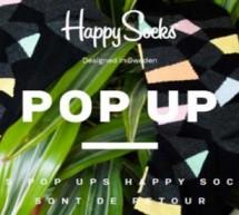 HAPPY SOCKS INAUGURE UN POP-UP STORE RUE DE RENNES A PARIS!