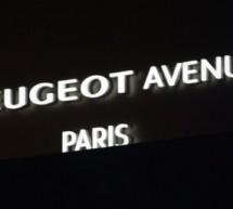 PEUGEOT,  réouverture de la boutique 136 avenue des  Champs Elysées!