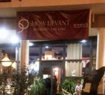 «SHOW DEVANT » :  Le nouveau concept de show culinaire  créatif !