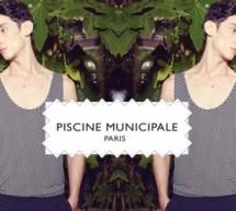 """""""Piscine Municipale"""" ligne masculine de shorts de bain créé en 2013 par Adrien Albou."""