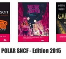 PRIX SNCF DU POLAR 2015 : 15ème édition – Résultats !
