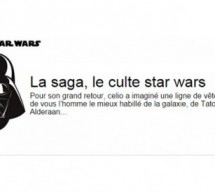 CELIO : collection capsule STAR. WARS !