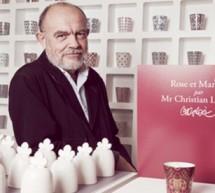 Rose et Marius : Pour Noël Christian Lacroix crée sa sa timbale précieuse !