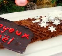 La bûche de Noël, reine des fêtes de fin d'année !