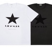 PAUL SMITH x DAVID BOWIE : T-shirt en édition limité.