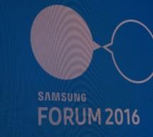Samsung Forum 2016 – La téléphonie mobile et ses dérivés.