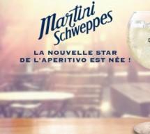 MARTINI SCHWEPPES : LA NOUVELLE STAR DE L'APERITIVO EST NÉE !