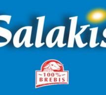 Gratin de courgettes au Salakis nature.