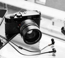 Son et esthétique : des casques audio haut de gamme signés Leica Camera et Master & Dynamic .