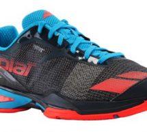 Focus sur la chaussure de tennis Babolat Jet.