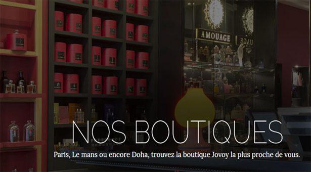 JOVOY, le Paradis du Parfum !