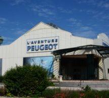 Le musée de l'Aventure Peugeot.