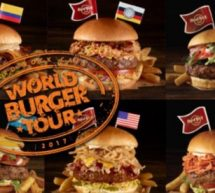 Le « World Burger Tour » du Hard Rock Cafe.