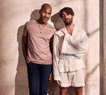Roy nu, la ligne française de vêtements d'intérieur sensuels pour hommes.
