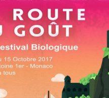 Monaco, La Route du Goût  du 12 au 15 octobre.