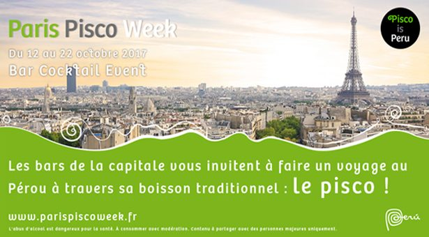 PARIS PISCO WEEK du 12 au 22 octobre.
