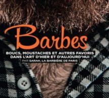 « Barbes, boucs, moustaches » Et autres favoris dans l'art d'hier et d'aujourd'hui.