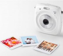 INSTAX SHARE SP-3 & INSTAX SQUARE	SQ10 BLANC : photos au format carré et au design audacieux.