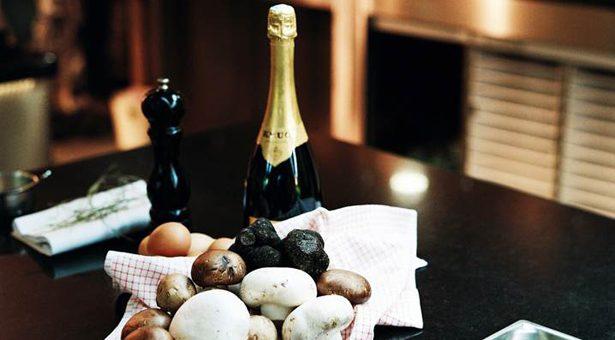Rencontres gustatives inédites entre le champignon et les Champagnes Krug.